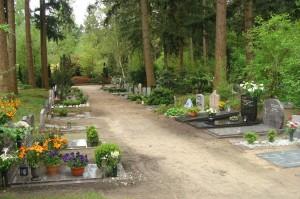 Padgraven op begraafplaats Rusthof, Amersfoort