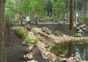 Verscheidenheid aan grafstenen, begraafplaats Rusthof, Amersfoort