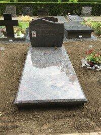 grafsteen begraafplaats Woudenberg