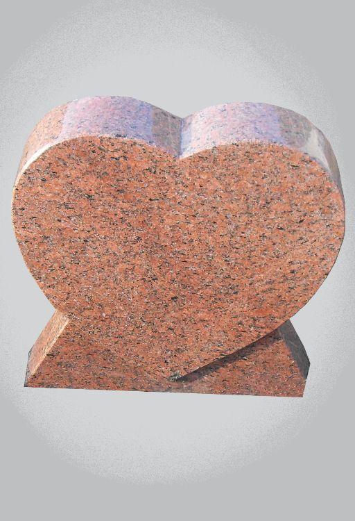 kinder grafsteen hart