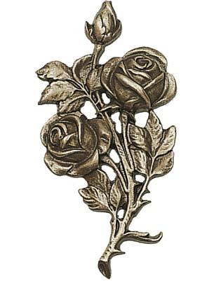 Bronzen bloemen en bomen
