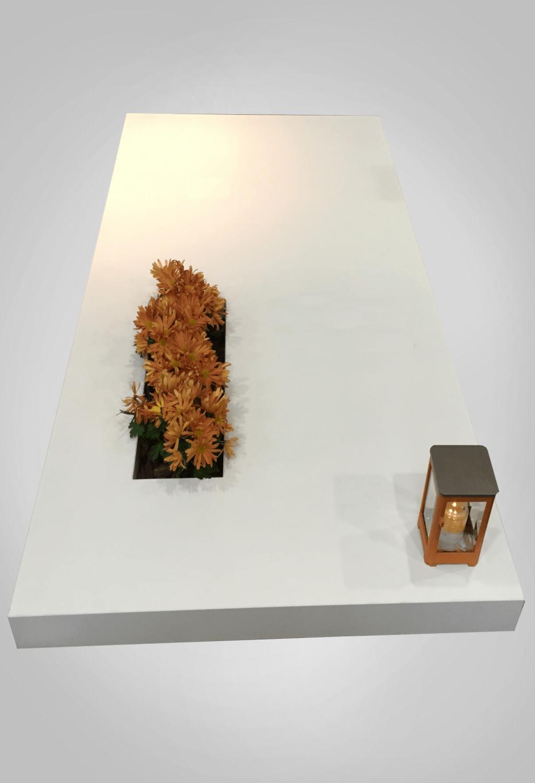 Liggende grafsteen model 3 Ewijkgrafstenen.nl