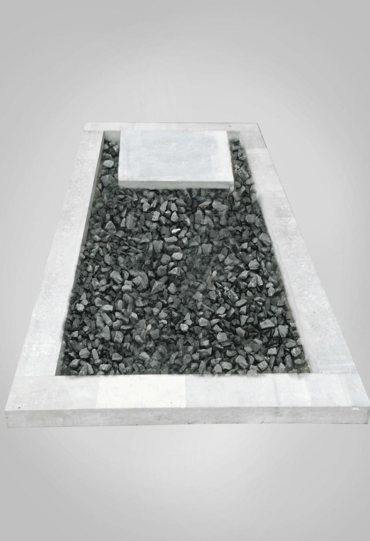 Liggende grafsteen model 5 Ewijkgrafstenen.nl