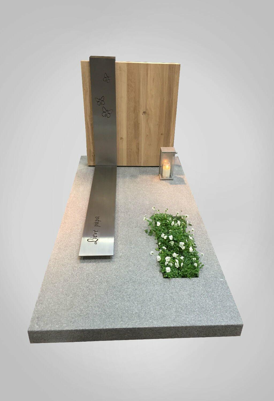 Moderne grafsteen model 1 Ewijkgrafstenen.nl