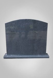 Eenvoudige grafsteen model 2 Ewijkgrafstenen.nl