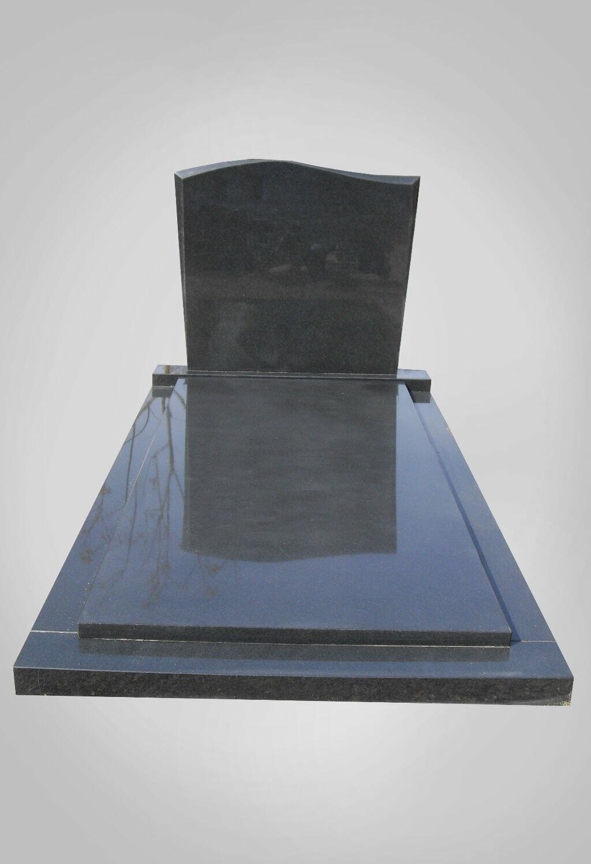 Eenvoudige grafsteen model 3 Ewijkgrafstenen.nl