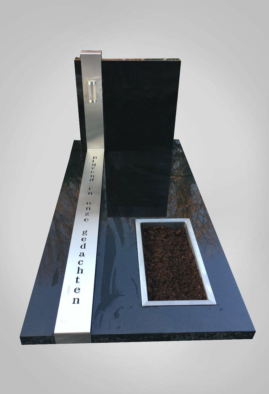Moderne grafsteen model 3 Ewijkgrafstenen.nl