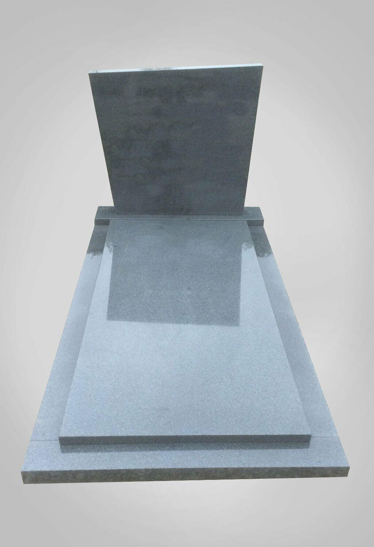 Eenvoudige grafsteen model 4 Ewijkgrafstenen.nl