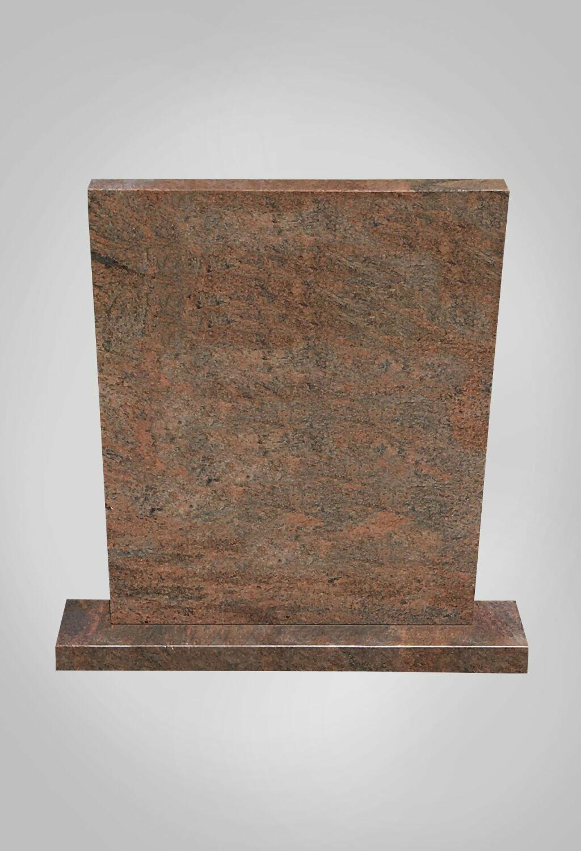 Staande grafsteen model 5 Ewijkgrafstenen.nl grafstenen