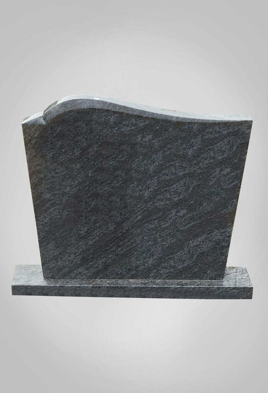 Staande grafsteen model 7 Ewijkgrafstenen.nl