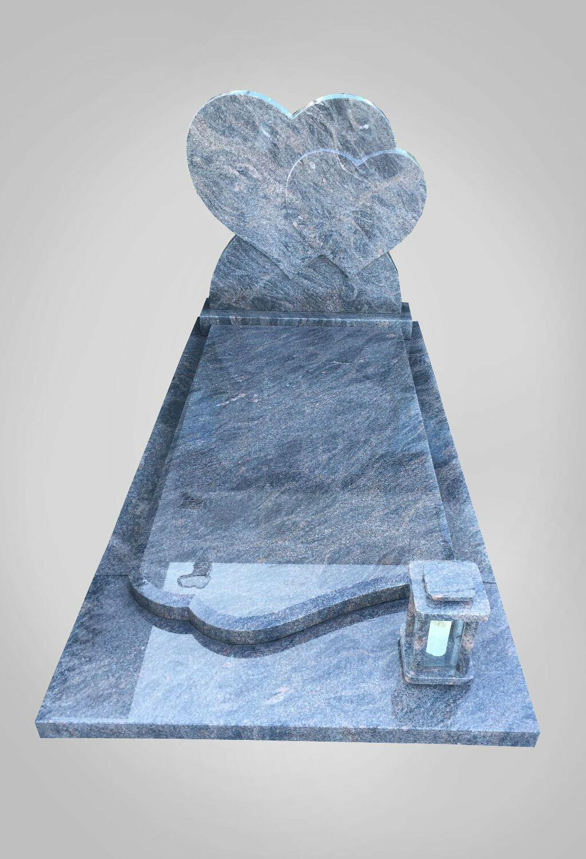 model-4-hartvorm-grafsteen