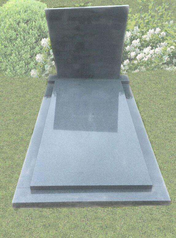 Eenvoudige grafstenen