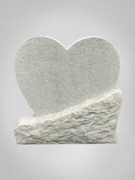 Witte grafsteen 10