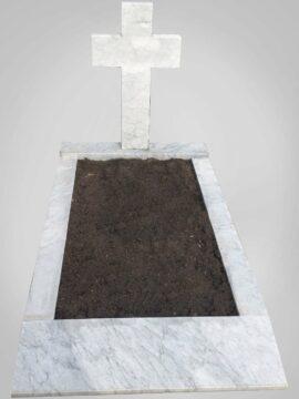 Witte grafsteen 13