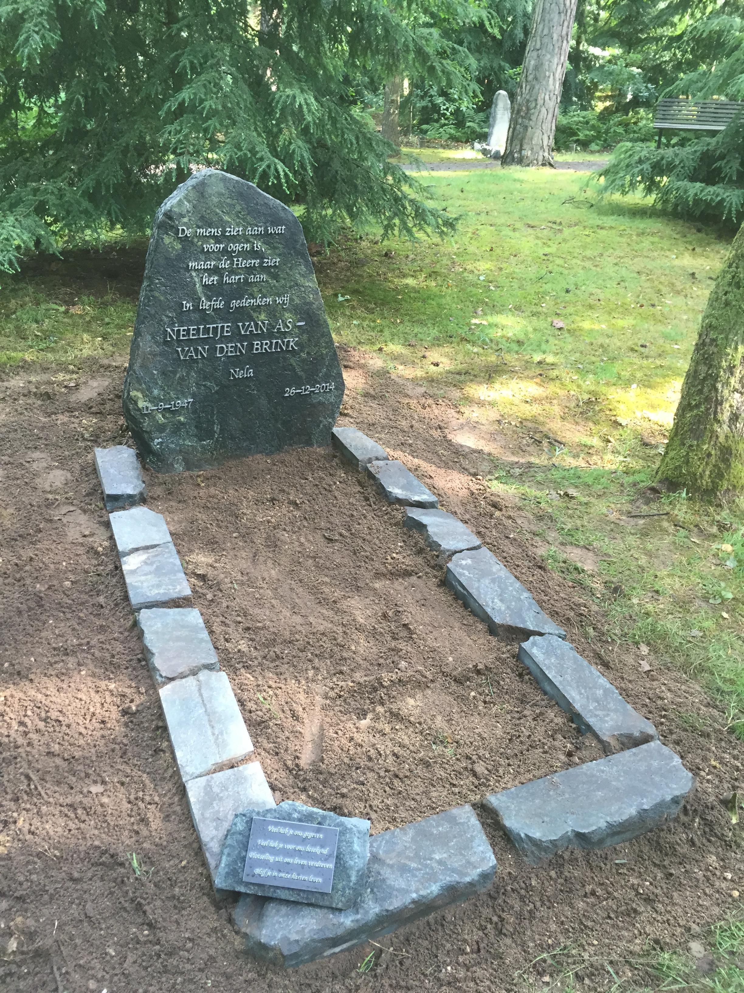 grafsteen begraafplaats Doorn